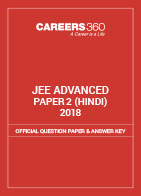 JEE Advanced 2018 Official Question Paper & Answer Key - Paper 2 (Hindi)