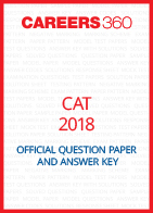 CAT 2018 Question Paper and Answer Key