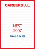 NEST Sample Paper 2007