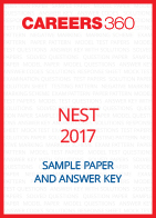 NEST Sample Paper and Answer Key 2017