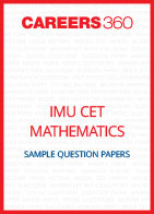 IMU CET Mathematics Sample Question Papers