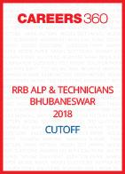 RRB ALP & Technicians Bhubaneswar 2018 Cutoff