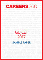 GUJCET 2017 Sample Paper
