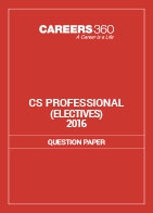 CS Professional Question Papers 2016- Electives
