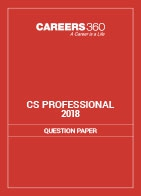 CS Professional Question Papers 2018