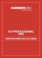 CS Professional Question Papers 2016- Old Syllabus