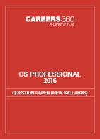 CS Professional Question Papers 2016- New Syllabus