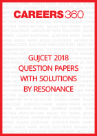 GUJCET 2018 Question Papers with Solutions by Resonance