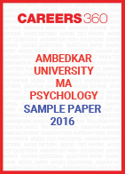 Ambedkar University MA Psychology Sample Paper 2016