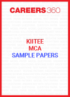 KIITEE MCA Sample Paper