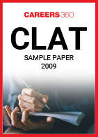 CLAT 2009 Sample Paper