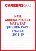 NTSE Andhra Pradesh Question Paper 2019