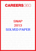 SNAP 2013 Solved Paper