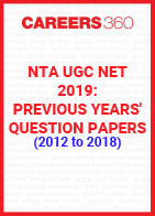 NTA UGC NET 2019: Previous Year's Question Papers (2012 to 2018)