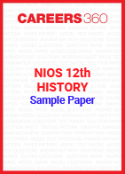 NIOS 12th History Sample Paper