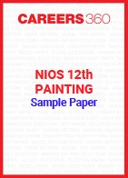NIOS 12th Painting Sample Paper