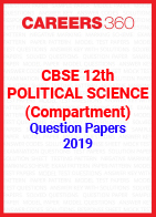 CBSE 12th Political Science (Compartment) Question Papers 2019