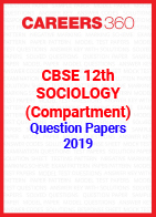 CBSE 12th Sociology (Compartment) Question Paper 2019