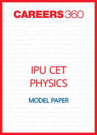IPU CET Model Paper Physics