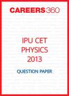 IPU CET 2013 Physics Question Paper