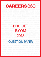 BHU UET 2018 B.Com. Question Paper