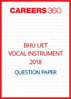 BHU UET 2018 Vocal Question Paper