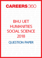 BHU UET 2018 B.ED. Special Humanities Social Science Question Paper