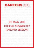 JEE Main 2019 Official Answer Key (January Session)