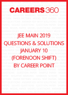 JEE Main 2019 Questions & Solutions by Career Point- January 10 (Forenoon Shift)