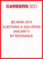 JEE Main 2019 Questions & Solutions by Resonance- January 9