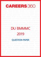 DU BMMMC 2019 Question Paper