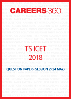 TS ICET 2018 Question Paper May 24