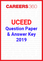 UCEED Question Paper and Answer key 2019