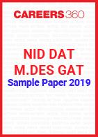 NID DAT Sample Paper 2019 M.Des GAT