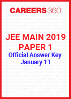 JEE Main 2019 Paper 1 Official Answer Key - January 11