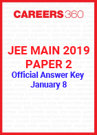 JEE Main 2019 Paper 2 Official Answer Key - January 8