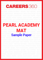 Pearl Academy MAT sample paper