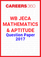 WB JECA Mathematics and Aptitude Question Paper 2017
