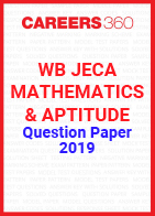 WB JECA Mathematics and Aptitude Question Paper 2019