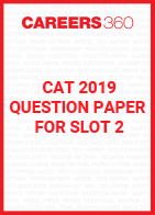 CAT 2019 Question Paper for Slot 2
