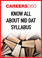 Know all about NID DAT Syllabus