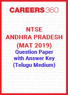 NTSE Andhra Pradesh (MAT 2019) Question Paper with Answer Key (Telugu Medium)
