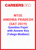 NTSE Andhra Pradesh (SAT 2019) Question Paper with Answer Key (Telugu Medium)