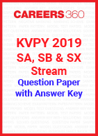 KVPY 2019 Question Paper and Answer key