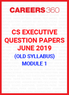CS Executive Question Papers June 2019 (Old Syllabus)- Module 1