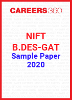 NIFT B.Des GAT Sample Paper 2020