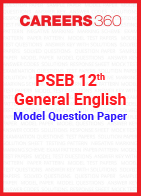PSEB 12th Model Question Paper General English