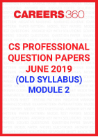 CS Professional Question Papers June 2019 (Old Syllabus) Module 2