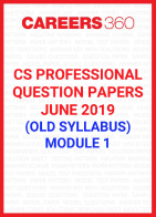 CS Professional Question Papers June 2019 (Old Syllabus) Module 1