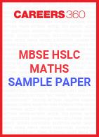 MBSE HSLC Maths Sample Paper 2020